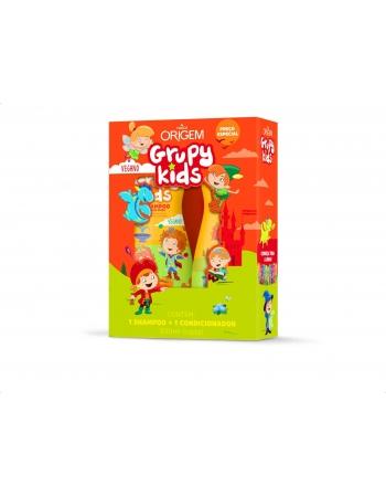 KIT SH+COND GRUPY KIDS ADEUS FRIZZ 500ML