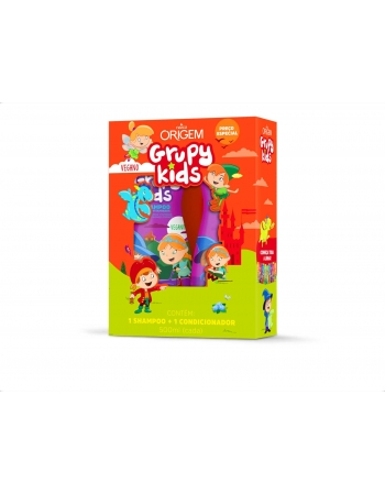 KIT SH+COND GRUPY KIDS FORÇA VITAMINADA 500ML