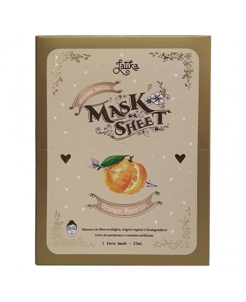 MASK SHEET LATIKA ORANGE PASSION BOX 10 UNID