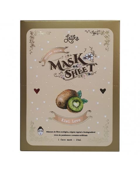 MASK SHEET LATIKA KIWI LOVE BOX 10 UNID