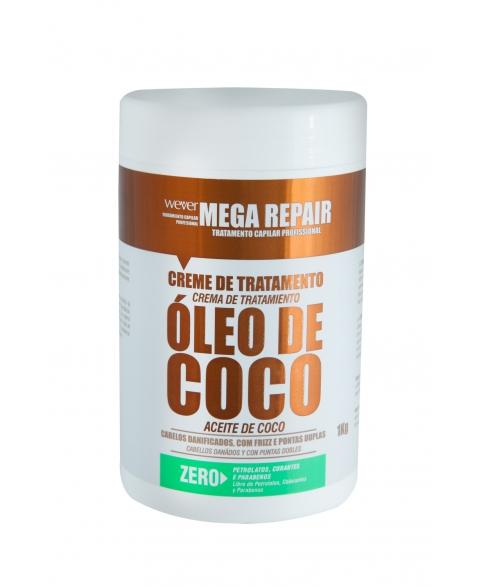 CREME DE TRAT MEGA REPAIR OLEO DE COCO 1KG
