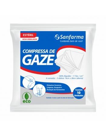 COMPRESSA GAZE ESTER 10 UND 11 FIOS